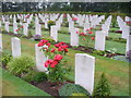 SJ9815 : Cannock Chase, Commonwealth Cemetery by Colin Smith