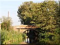 SK7694 : Bridge 81, Wharf Bridge, Chesterfield Canal by Christine Johnstone