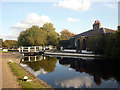 TQ1479 : Asylum Lock, Grand Union Canal, Hanwell by Julian Osley