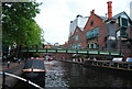 SP0686 : Footbridge, Worcester and Birmingham Canal by N Chadwick