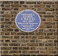 Photo of Frederick George Creed blue plaque