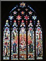 TQ3181 : St. Etheldreda's Church, Ely Place, EC1 - east window by Mike Quinn