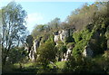 SK5374 : Scenery at Creswell Crags by Andrew Hill