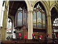 TF3287 : The Organ, St James' Church, Louth by J.Hannan-Briggs