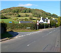 SO5015 : Corner of Manson Lane and Hereford Road, Monmouth by John Grayson