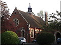 TQ3364 : St. Peter's Church Hall, South Croydon by David Anstiss