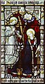 TL7164 : All Saints, Gazeley - Stained glass window by John Salmon