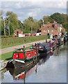 SK1313 : Trent and Mersey Canal at Fradley Junction, Staffordshire : Week 42