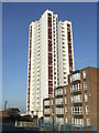 TQ4478 : High rise flats, Plumstead by Malc McDonald