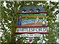 TL4748 : Whittlesford Village Sign by Finlay Cox
