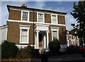 TQ3278 : Listed house, Sutherland Square, SE17 by Derek Harper