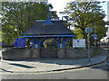 SJ9391 : St Mark's Lychgate and Church by David Dixon