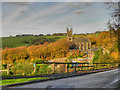 SE0006 : Saddleworth Church and the Church Inn by David Dixon