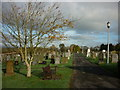 NY1281 : Lockerbie cemetery by Ian S