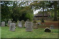 SP6407 : Churchyard of St Nicholas, Ickford by Bill Boaden