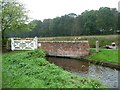 SK6380 : Osberton Lock bywash by Christine Johnstone