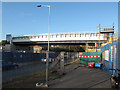 TQ3577 : New London Overground bridge  by Stephen Craven