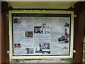 SJ7049 : St Chad's, Information board by Alexander P Kapp