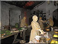 NS7994 : Recreation of the Great Kitchen at Stirling Castle by M J Richardson