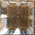 TF3244 : St Botolph's - Tower ceiling by Rob Farrow