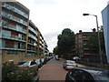TQ2977 : Thessaly Road, London SW8 by Stacey Harris