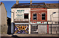 J3674 : Vacant and derelict shops, east Belfast (2) by Albert Bridge