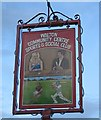 SE3517 : Social club sign, Walton by Pauline Eccles
