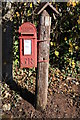 SO6567 : Post box at Highwood by Philip Halling