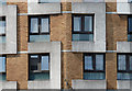 TQ3382 : Detail of Sivill House, Columbia Road by Stephen Richards