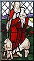 TQ2483 : St Anne, Salusbury Road, Brondesbury - Stained glass window by John Salmon