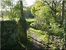 SE0025 : Hebden Royd Footpath 64 by Humphrey Bolton