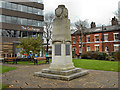 SD8010 : Bury Unitarian War Memorial and Garden, Silver Street by David Dixon