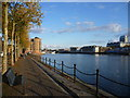 TQ3679 : Greenland Dock by Ian Yarham