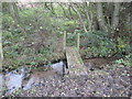 SJ6067 : A footbridge over a tributary of Shay's Lane Brook by Dr Duncan Pepper