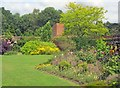 SK4132 : Old English Garden at Elvaston Park - 2 by Trevor Rickard