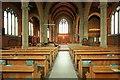 TQ3191 : St Cuthbert, Wolves Lane - East end by John Salmon