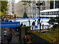 TQ2679 : Skating Rink at Natural History Museum by Peter Barr