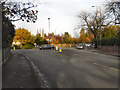SJ8983 : Chester Road/Woodford Road Roundabout by David Dixon