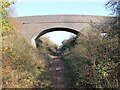 SP4067 : Bridge over dismantled railway by David P Howard