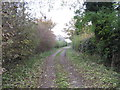 SJ6564 : Welsh Lane &amp; Footpath by Dr Duncan Pepper