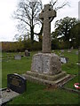 SZ5685 : Newchurch Parish War Memorial by Chris McAuley