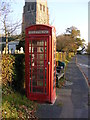 TM2072 : Horham Telephone Box by Adrian Cable