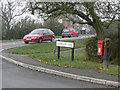 SK6627 : Bridegate Lane/Hickling Pastures postbox ref LE14 113 by Alan Murray-Rust