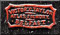 "J3374 : ""Atlas"" wall protection, Belfast (2) by Albert Bridge"