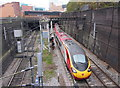 SP0786 : Looking towards New Street South Tunnels, Birmingham by Gareth James