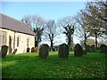 TA0079 : Southern side of Willerby churchyard by Christine Johnstone