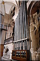 SO5139 : Organ pipes, Hereford Cathedral by Julian P Guffogg