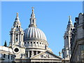 TQ3281 : St Paul's Cathedral Dome by Colin Smith