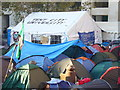 TQ3181 : Tent City University by Colin Smith