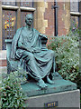 TL4458 : Bronze sculpture of William Pitt the Younger, Cambridge by Roger  Kidd